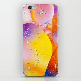Pink Yellow Viscous Liquid iPhone Skin