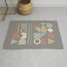 Geometric Shapes 02 Rug