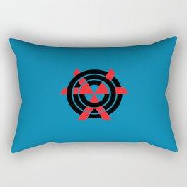 CHVRCHES Blue Rectangular Pillow
