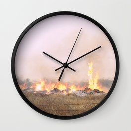 Firewoman Wall Clock
