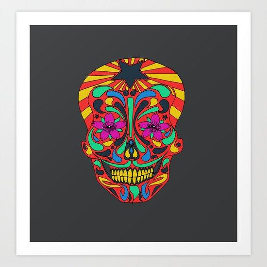 muerto Art Print