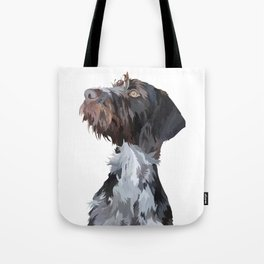 German Wirehaired Pointer Tote Bag