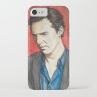 benedict iPhone & iPod Cases featuring Benedict by IamDeirdre