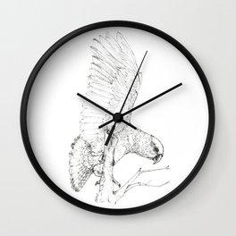 Black Kea Wall Clock
