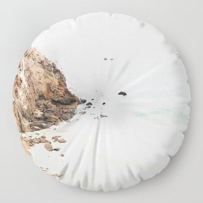 Malibu California Beach Floor Pillow