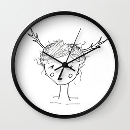 They Came Last Night Wall Clock