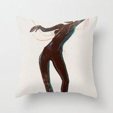 Super Bad Throw Pillow