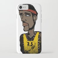 basketball iPhone & iPod Cases featuring Basketball  by JBLITTLEMONSTERS