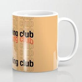Overthinkg Club Coffee Mug