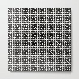 Geo quaters Metal Print