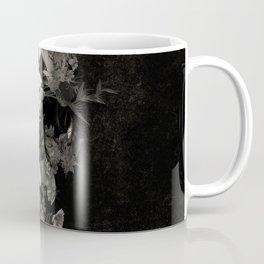 Spring Skull Monochrome Coffee Mug