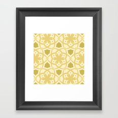 Pattern Print Edition 1 No. 1 (cream) Framed Art Print