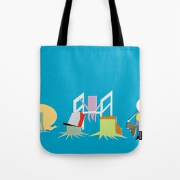 Minimal Squidbillies Tote Bag