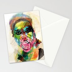 The human beast Stationery Cards