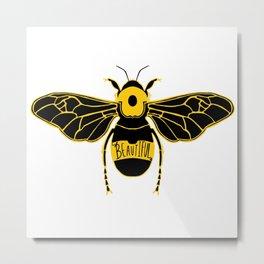 Bee-autiful Metal Print