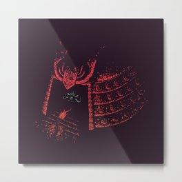 Secrets of the Samurai Metal Print