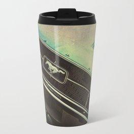 Galaxy Mustang Travel Mug