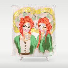 SIÚRACHA (sisterhood) Shower Curtain