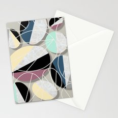 Stones and Outlines Stationery Cards