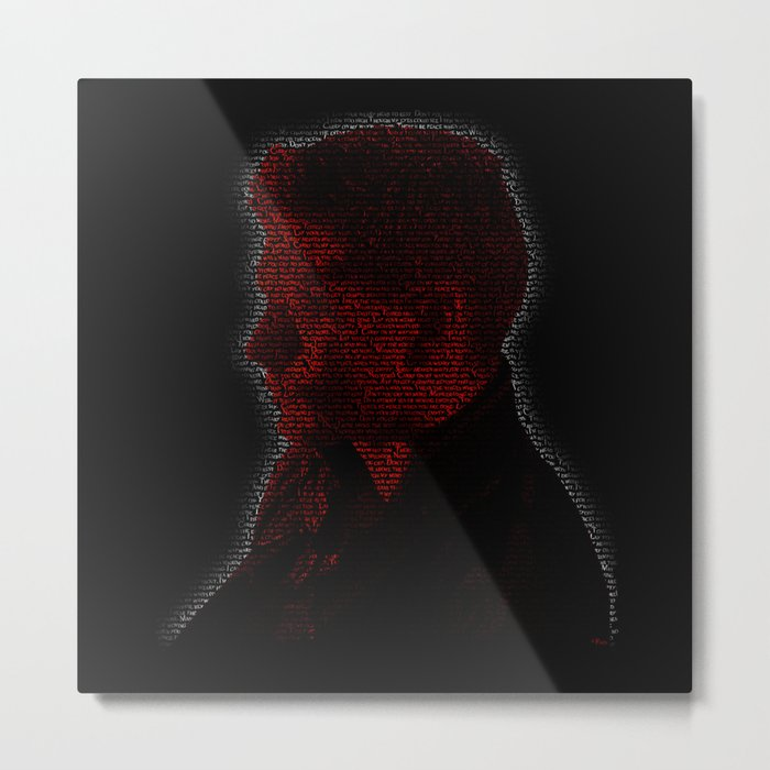 Carry On Dean Winchester Metal Print