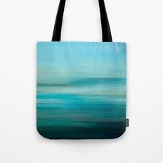 Greenish Blue Sea Tote Bag