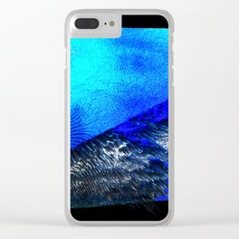Free Vertical Composition #473 Clear iPhone Case