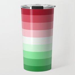 Flag Gradient v2 Travel Mug
