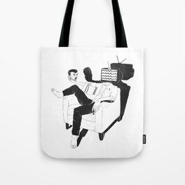 Daily dilemma Tote Bag