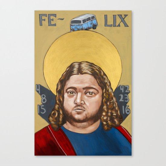 Saints of LOST   Hurley Canvas Print