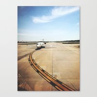 memphis Canvas Prints featuring MEMPHIS by ABPhoto
