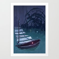 DREAM BOAT Art Print