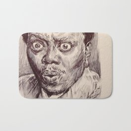 Bernie Mac Portrait Bath Mat