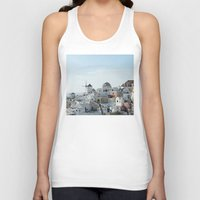 greece Tank Tops featuring Greece Villas by Limitless Design