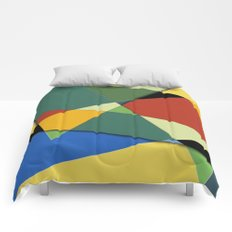 Abstract #323 Vincent's Palette Comforters