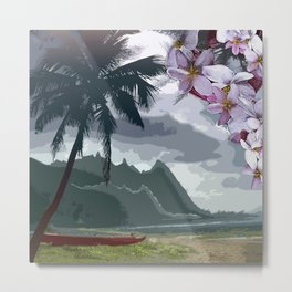 The Storm is Passing Metal Print