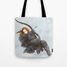 Redhead archer Tote Bag