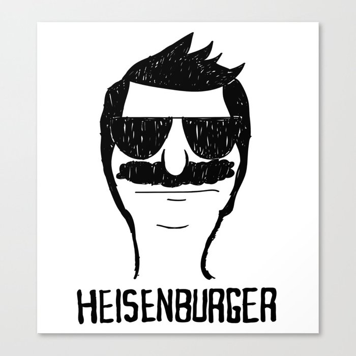 Breaking Bob - Heisenburger Canvas Print