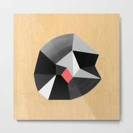 6x6 Shape No:02 Metal Print