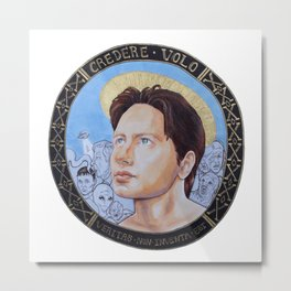 Patron Saint of Belief Metal Print