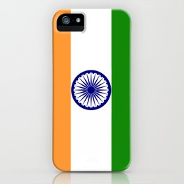 India national flag iPhone Case