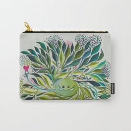 Poofy Asparagus Carry-All Pouch