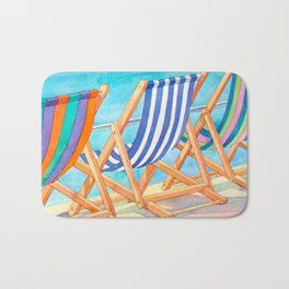 Beach Chairs 1 Bath Mat
