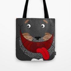 Dog Love,  kids wall art, Cute, fun prints of animals in love, Mix and Match Them!! Tote Bag