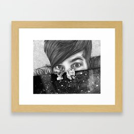 Diamondminecraft  Framed Art Print