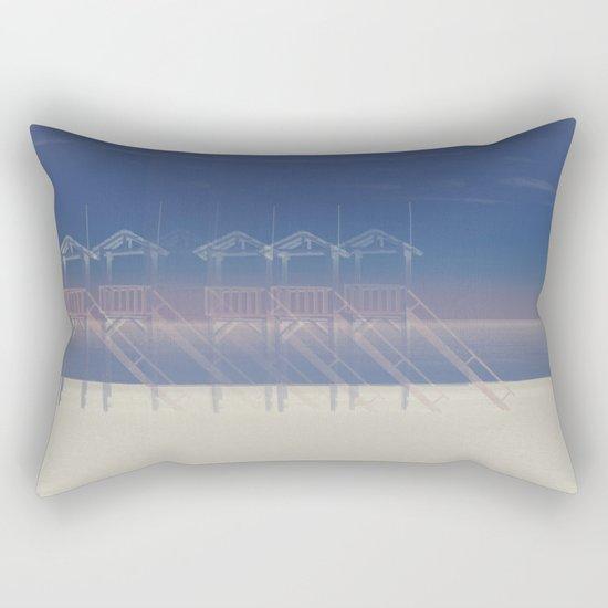 Summer beach Rectangular Pillow