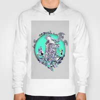cityscape Hoodies featuring Cityscape by infloence