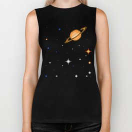 Deep  Dark  Space Biker Tank