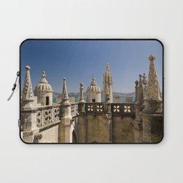 ornamental turrets in the Torre de Belem, Lisbon Laptop Sleeve