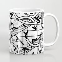 8 bit Mugs featuring 8 bit by Bomburo