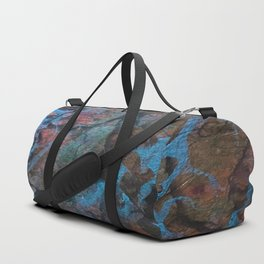 The Painter's Brush :: Corrupted Ocean Duffle Bag